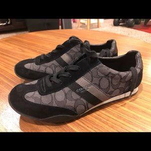 Coach shoes size 10. Black.